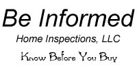 Be Informed Inspections Logo