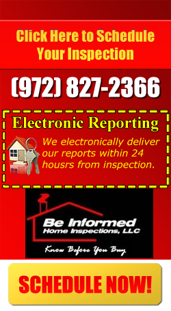 Be Informed Home Inspections CTA