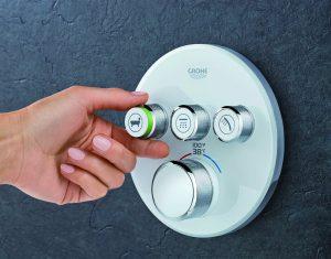 3 shower knobs | Be Informed Inspections | bathroom installation Dallas