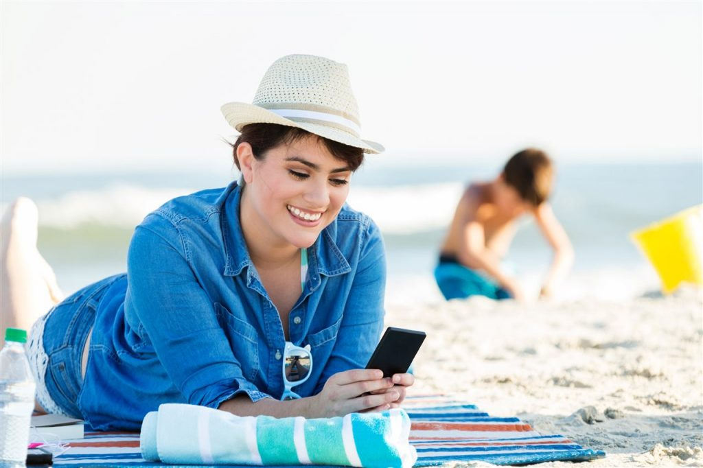woman in summer vacation | Be Informed Inspections | Summer Travel Season Fort Worth