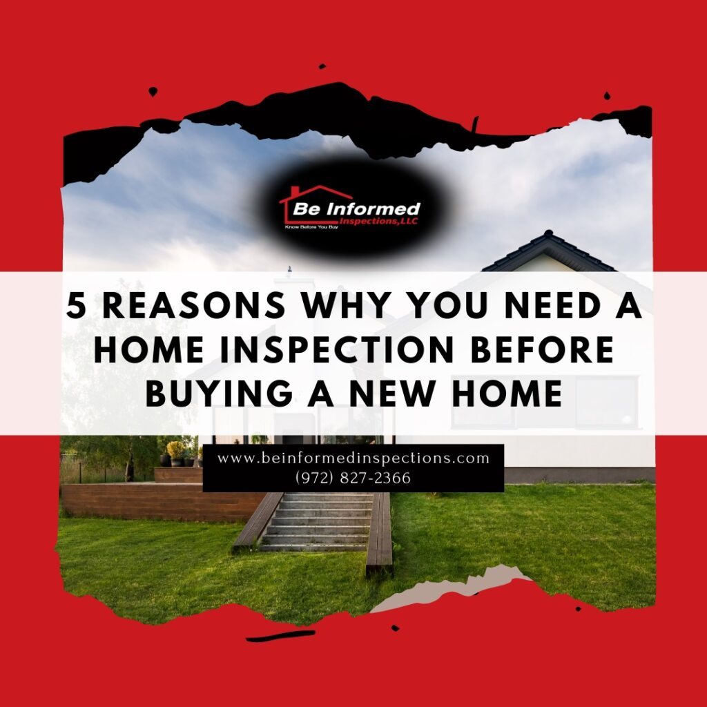 5 Reasons Why You Need a Home Inspection before Buying a New Home