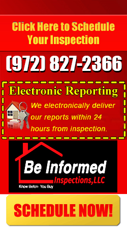 Home Inspection Dallas TX Schedule Sidebar