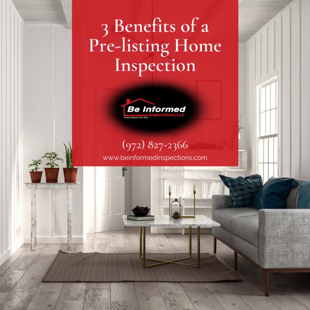 home inspection Dallas - PreListing